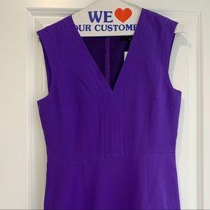 Short purple Tibi dress size 4